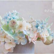Dekoracje kwiatowe z cukru