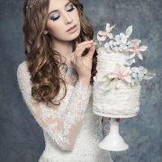 Tort jak suknia ślubna