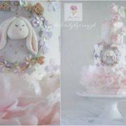 Tort z króliczkiem na urodziny