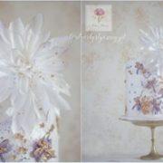 Elegancki tort dla kobiety